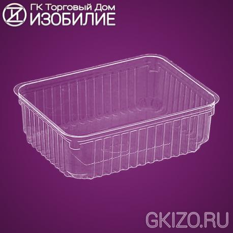 Емкость КМ-750 ПРОЗРАЧНАЯ (200шт./уп.)