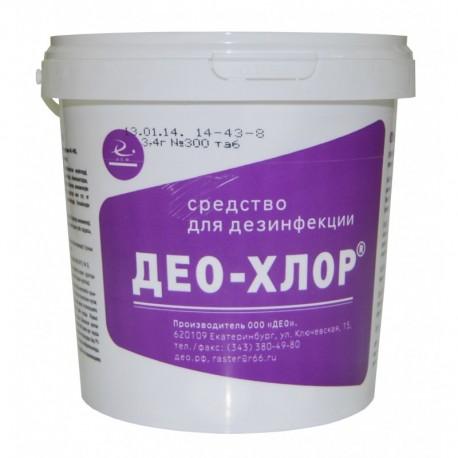 Дезинфицирующее средство Део-хлор 3.4
