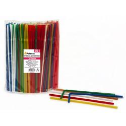 Трубочки для напитков Paterra цветные, с изгибом, 250 шт.