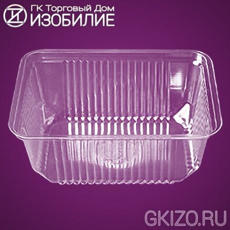 Емкость КМ-1002/1 ПРОЗРАЧНАЯ (400шт./уп.)